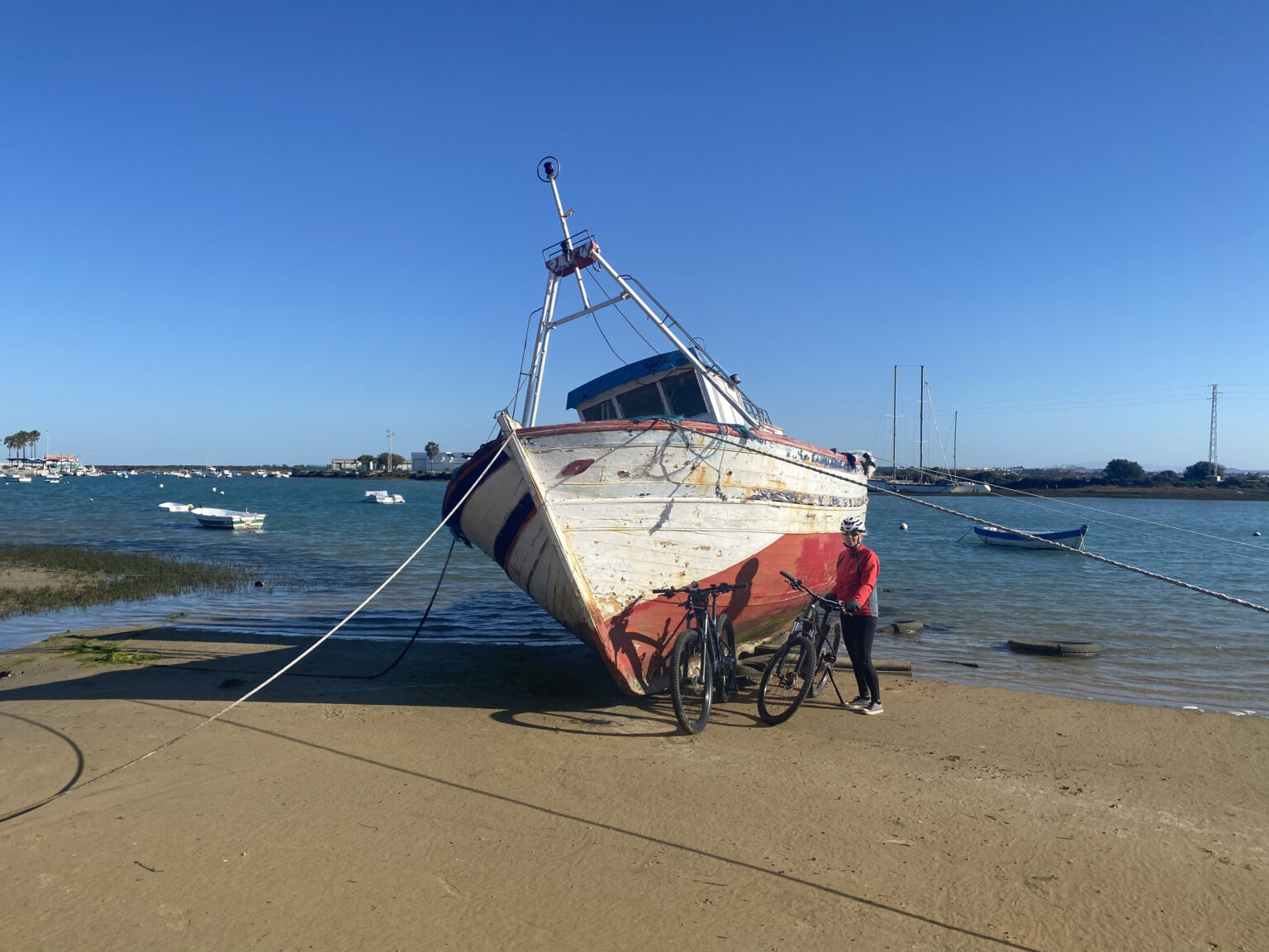 Boot Hafen Sancti
